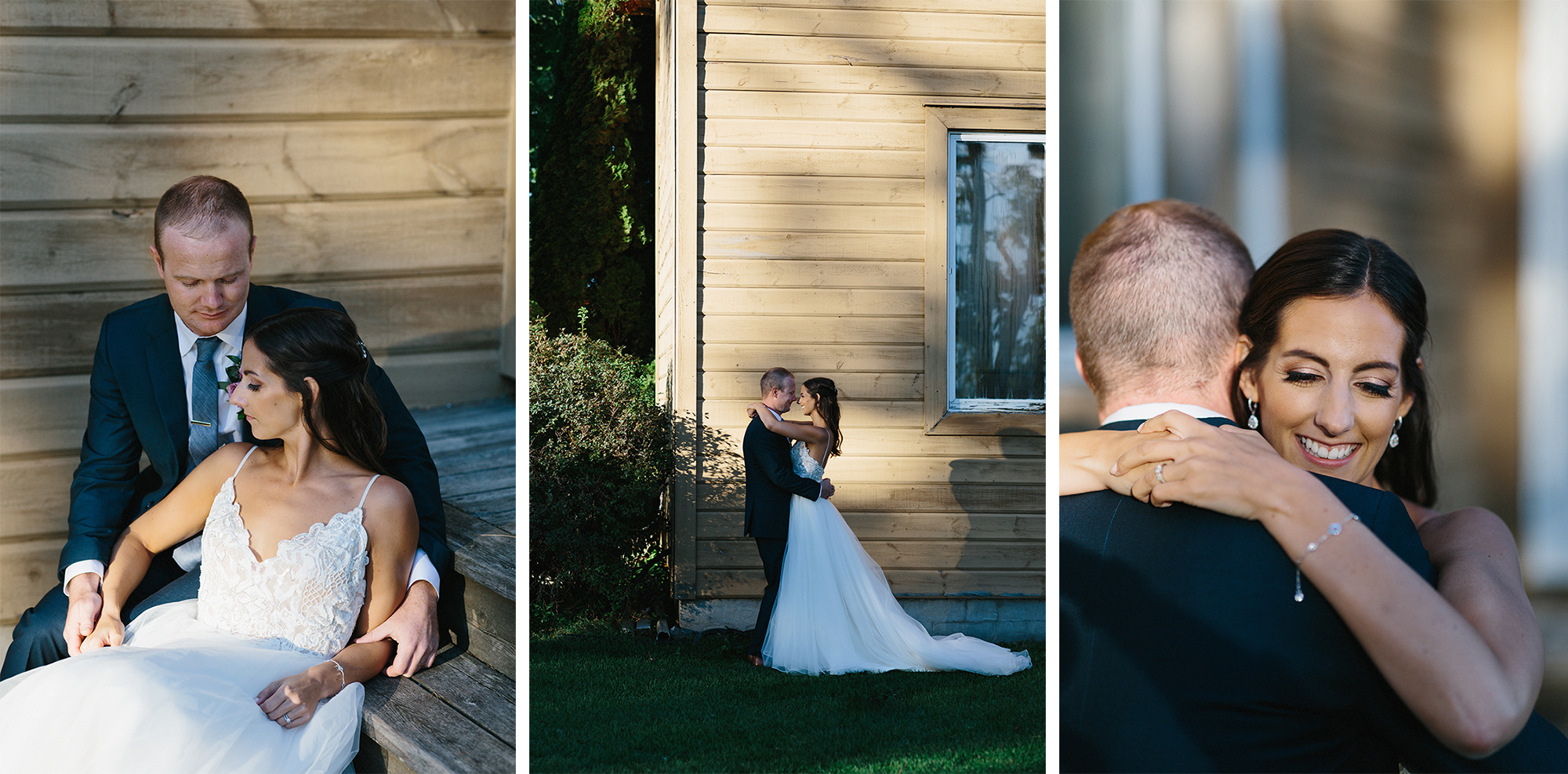 13-golden-hour-portraits-with-bride-and-groom-on-steps-At-Eganridge-Resort-Venue-Muskoka-Ontario-Wedding-Photography-by-Ryanne-Hollies-Photography-Toronto-Documentary-Wedding-Photographer.jpg