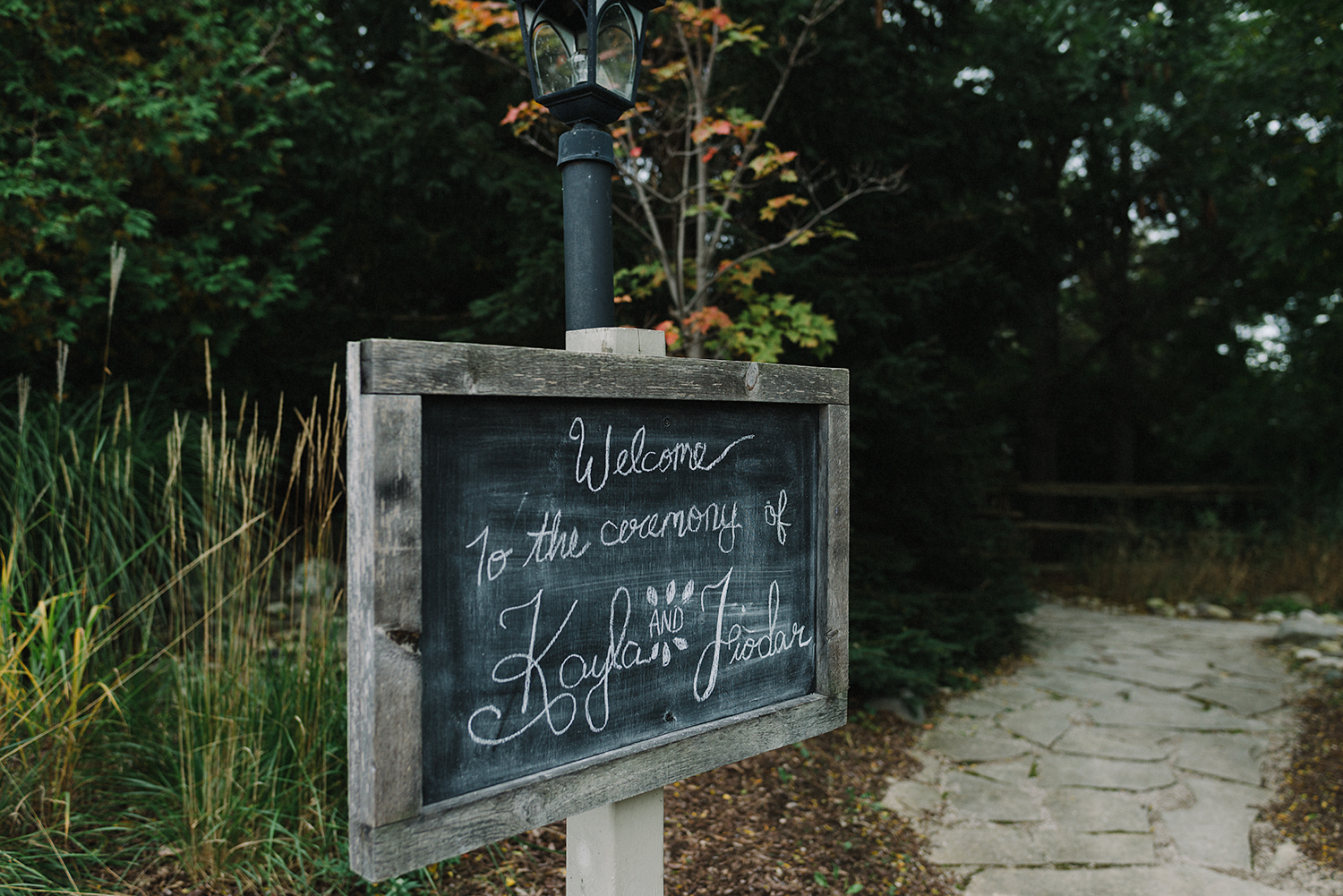 bellamere-winery-ceremony-in-field-rustic-chalkboard-signs-toronto's-best-wedding-photographers-candid-documentary-style-photography-london-ontario-winery-wedding-inspiration.jpg