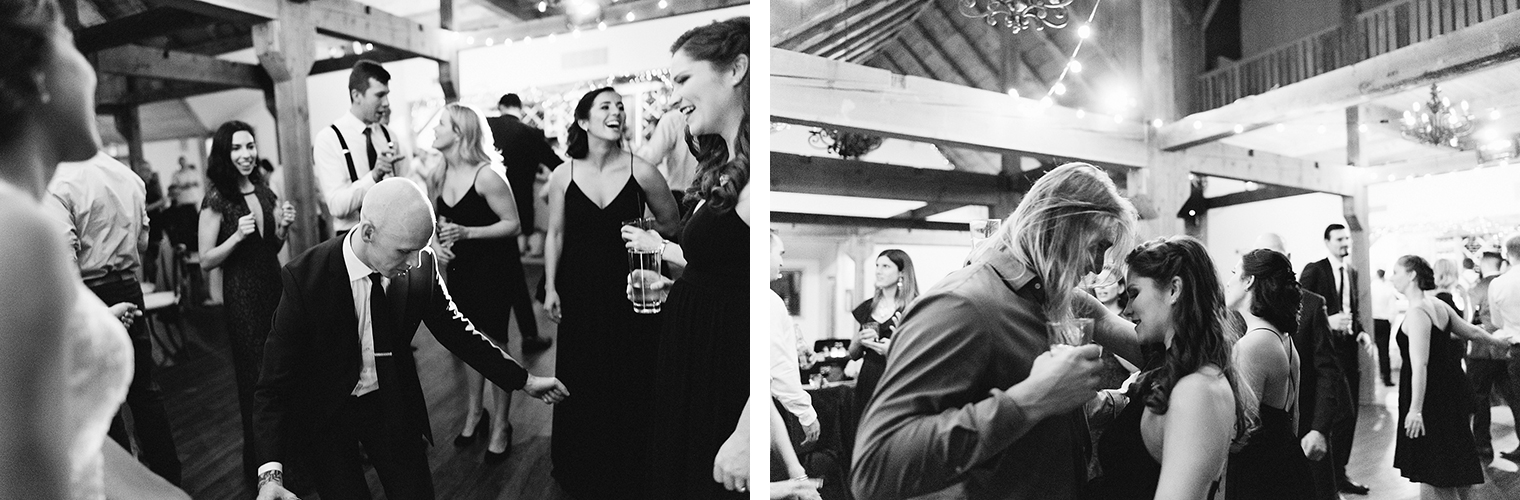 44--candid-guests-dancing-in-barn-with-string-lights-toronto's-best-analog-documentary-wedding-photographers-candid-photography-london-ontario-wedding-inspiration.jpg