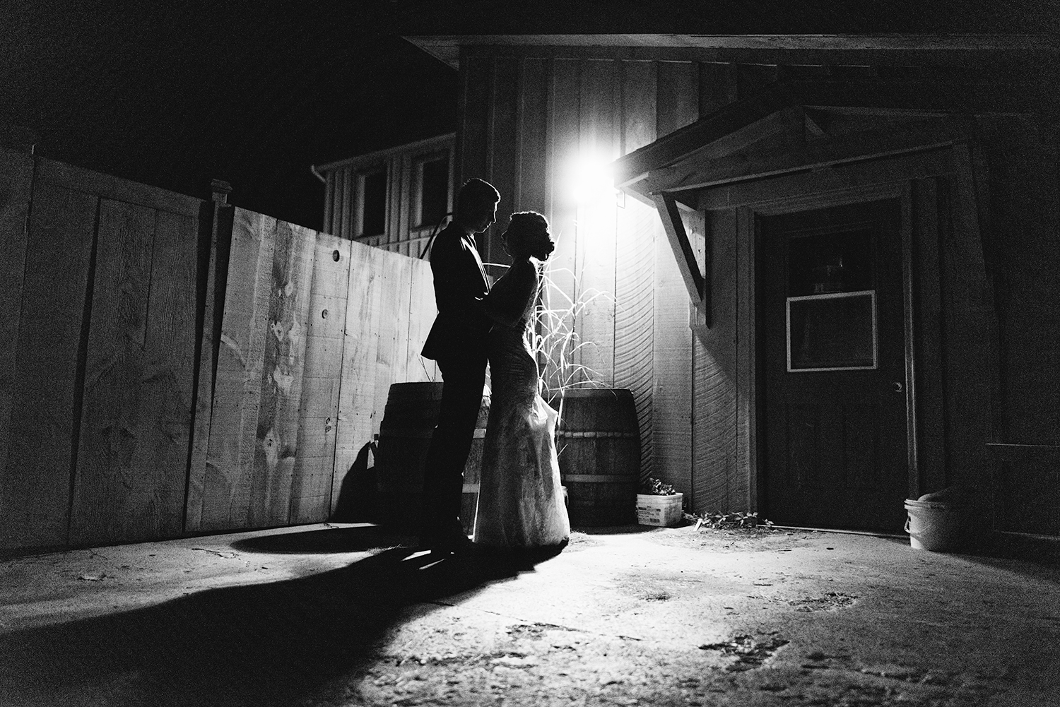 bw-outside-night-portrait-intimates-romantic-moody-toronto's-best-analog-documentary-wedding-photographers-candid-photography-london-ontario-wedding-inspiration.jpg