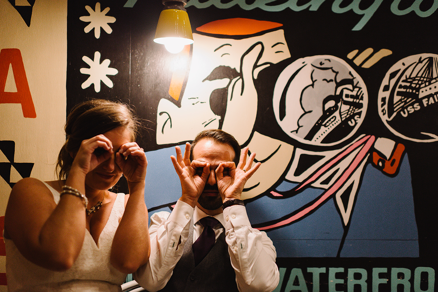Prince-Edward-County-Wedding-Photographer-Drake-Hotel-Vintage-Wedding-Venue-Bride-and-Groom-funny-portrait.jpg