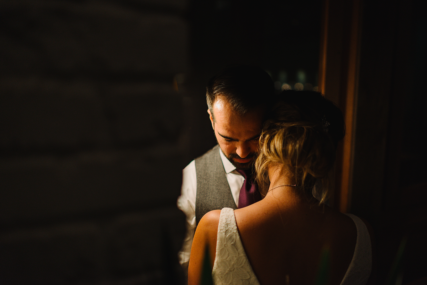 Prince-Edward-County-Wedding-Photographer-Drake-Hotel-Vintage-Wedding-Venue-Bride-and-Groom-intimate-moment-portrait-moody-light.jpg
