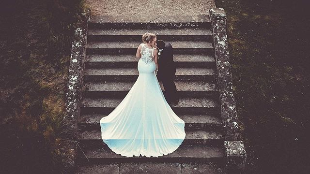 - - What a dress - -  #sleafordweddingphotographer #lincolnshireweddingphotographer #lincolnshireweddingvideographer #lincolnshirewedding #stokerochfordhallwedding #stokerochfordhall #weddingdressphoto #weddingdressphotography #aerialweddingphotography #dress #weddingdress