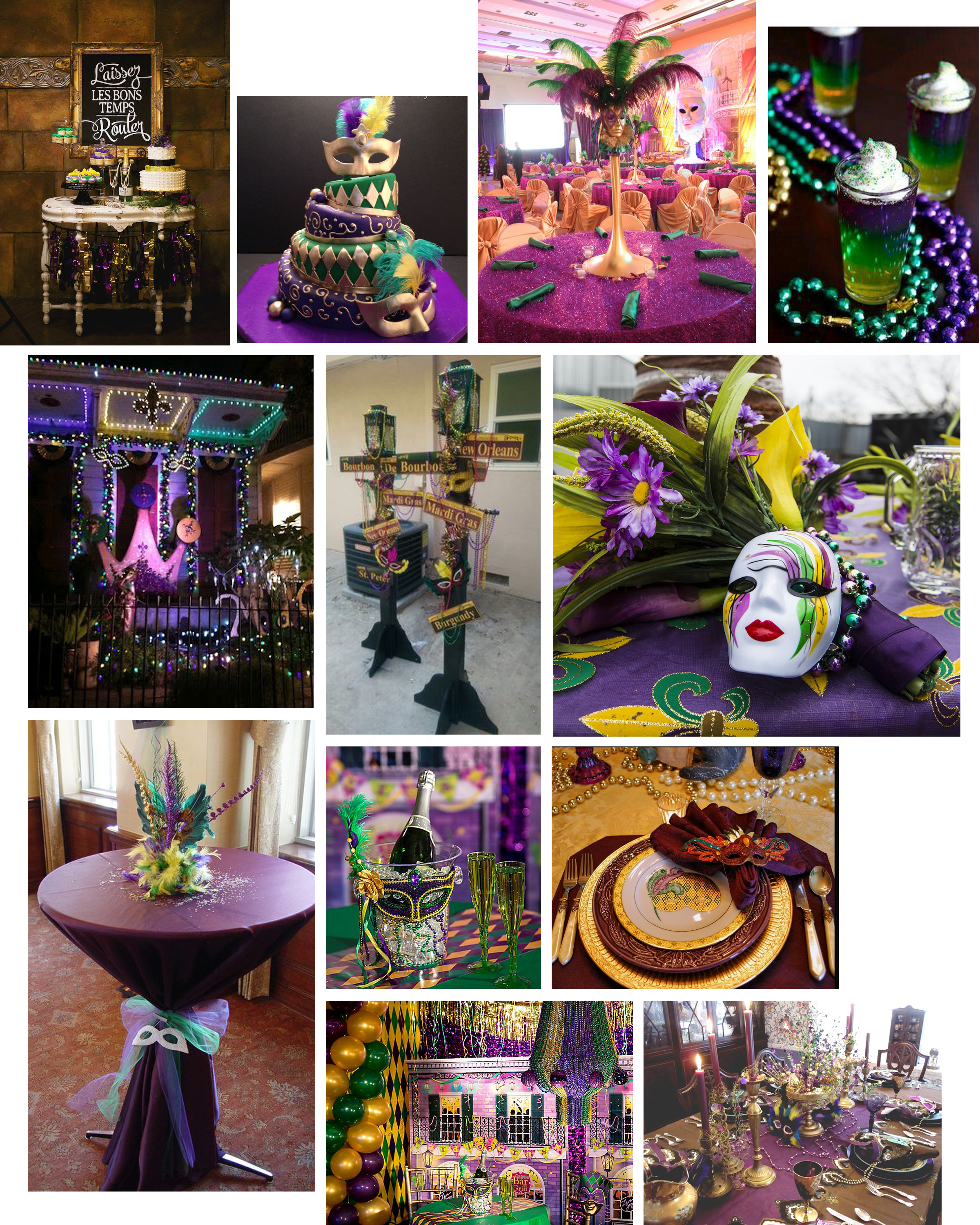 """The history of Mardi Gras (Cliff note version):Traditionally, in the days leading up to Lent, merrymakers would binge on all the meat, eggs, milk and cheese that remained in their homes, preparing for several weeks ofeating only fish and fasting. In France, the day before Ash Wednesday came to be known as  Mardi Gras , or """"Fat Tuesday."""""""
