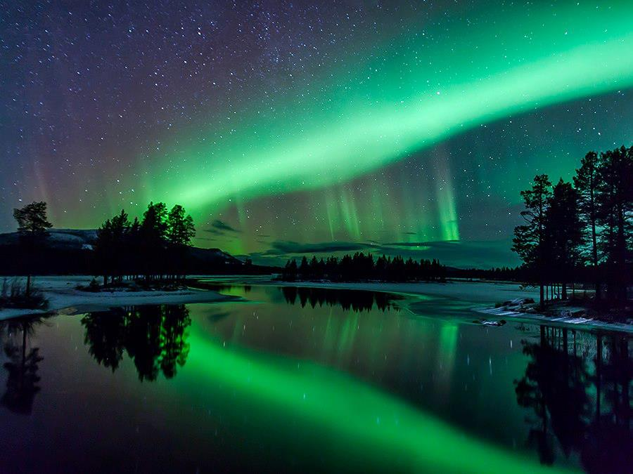 Aurora Borealis, Arjeplog Lapland Sweden
