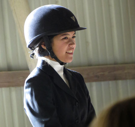 Riders must wear NEF approved hard hats while mounted