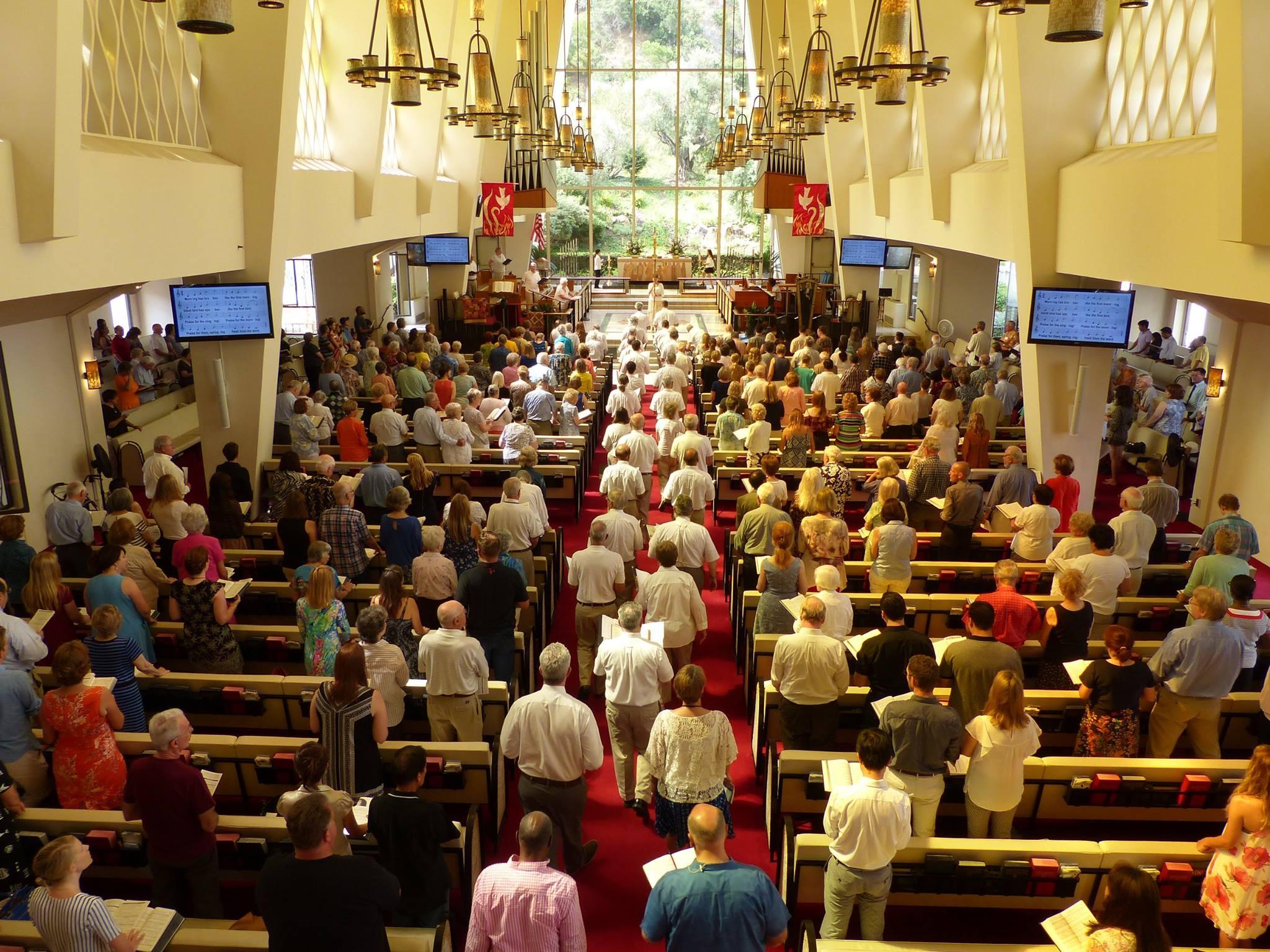 San-Diego-First-United-Methodist-Church-worship-gathering