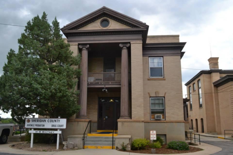 Sheridan County Jail, 41 West Whitney Street, Sheridan, Wyoming