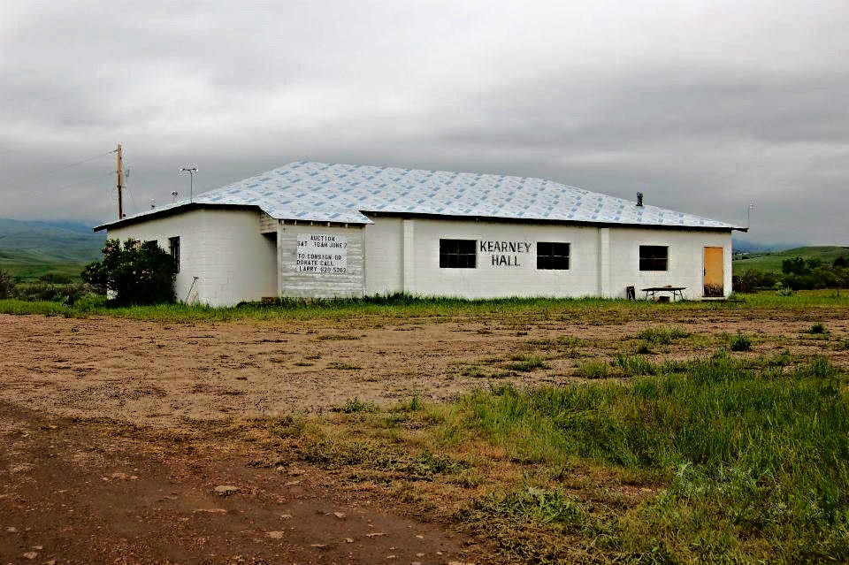 The Kearney Community Hall is on Piney Creek Road in Story, Wyoming