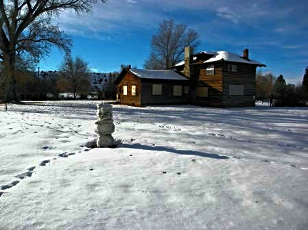 The Emerson Parks House is located at 504 Second Street in Ten Sleep, Wyoming