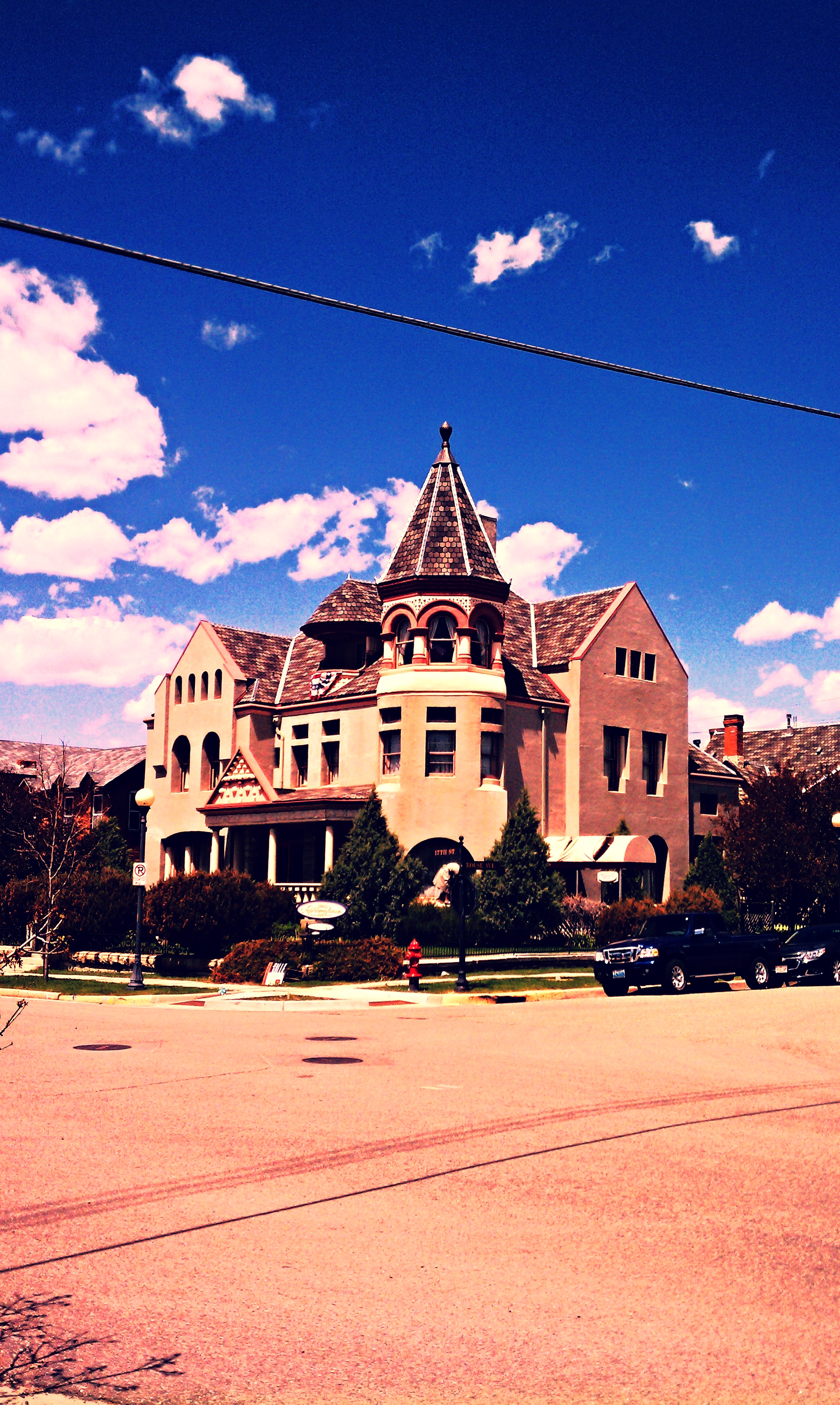 The  Nagle Warren Mansion  is one of a few 19th century Victorian mansions remaining in Cheyenne made possible by the cattle industry.