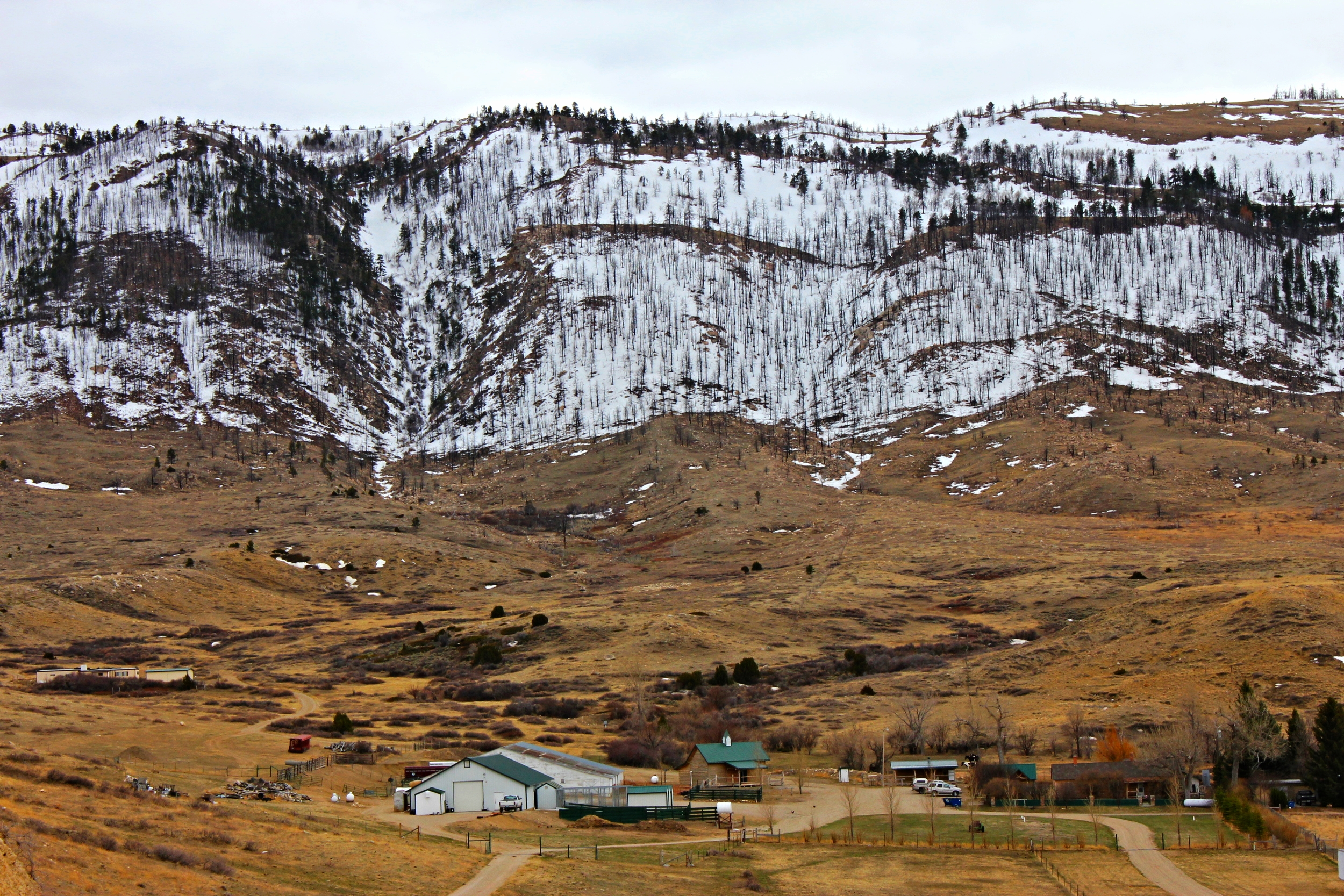 The Gothberg Ranch near Casper, originally settled in 1885, is just one example of how historic ranches preserve the integrity of the landscapes around them.