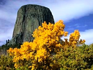 Bear's Lodge, commonly known as Devil's Tower, was the United States' first national monument and is also a sacred site to numerous Plains groups.