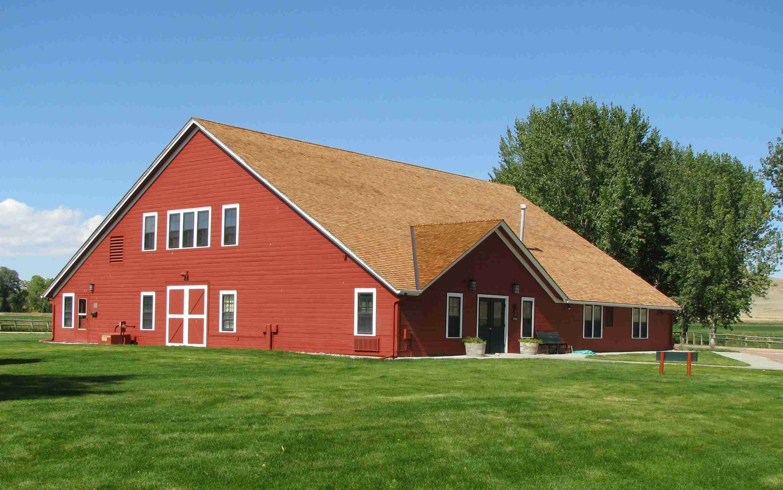 Big Red Barn at Ucross Ranch