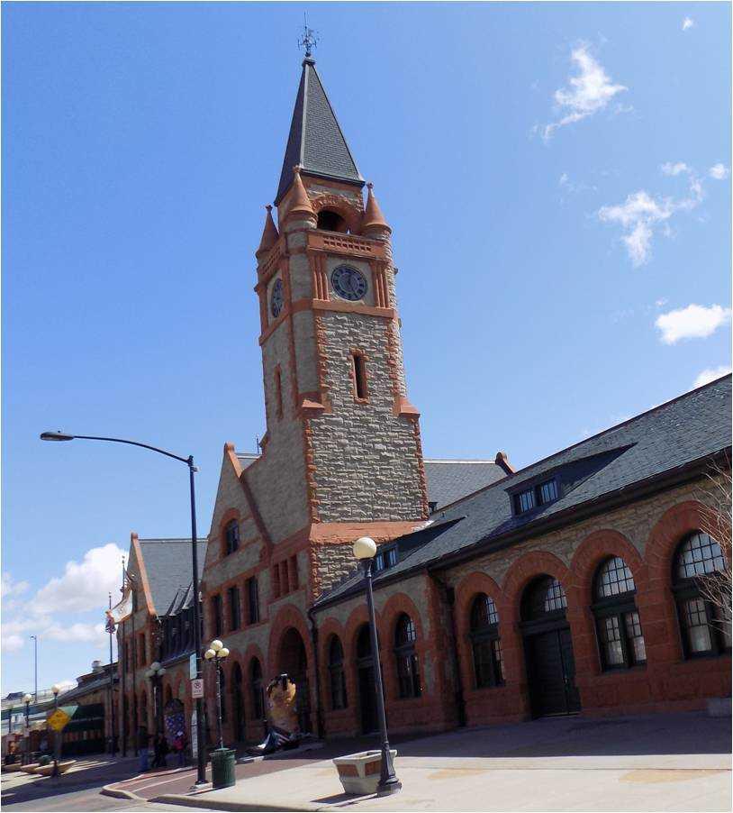 Cheyenne Union Pacific Depot