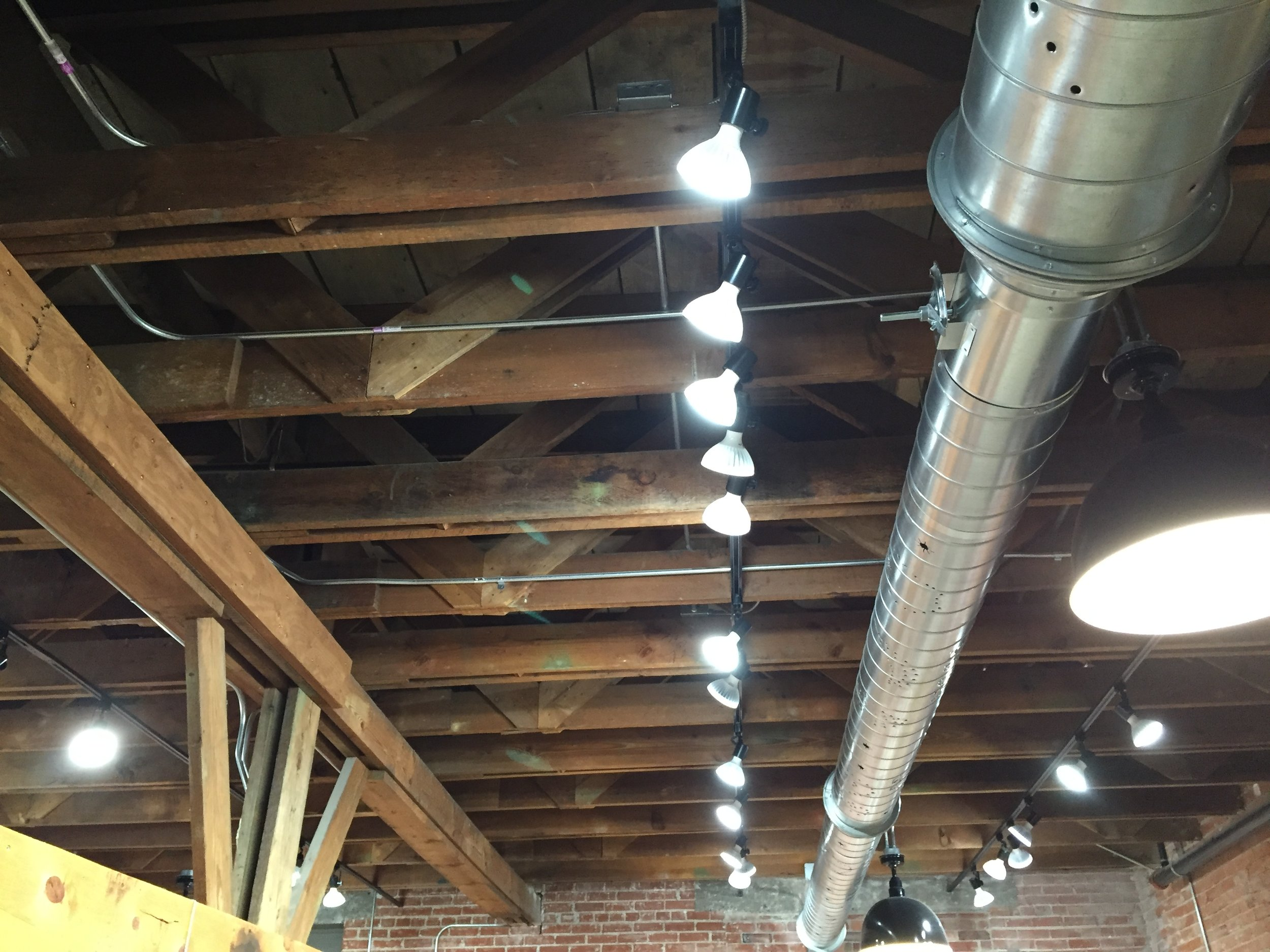 Timber rafters