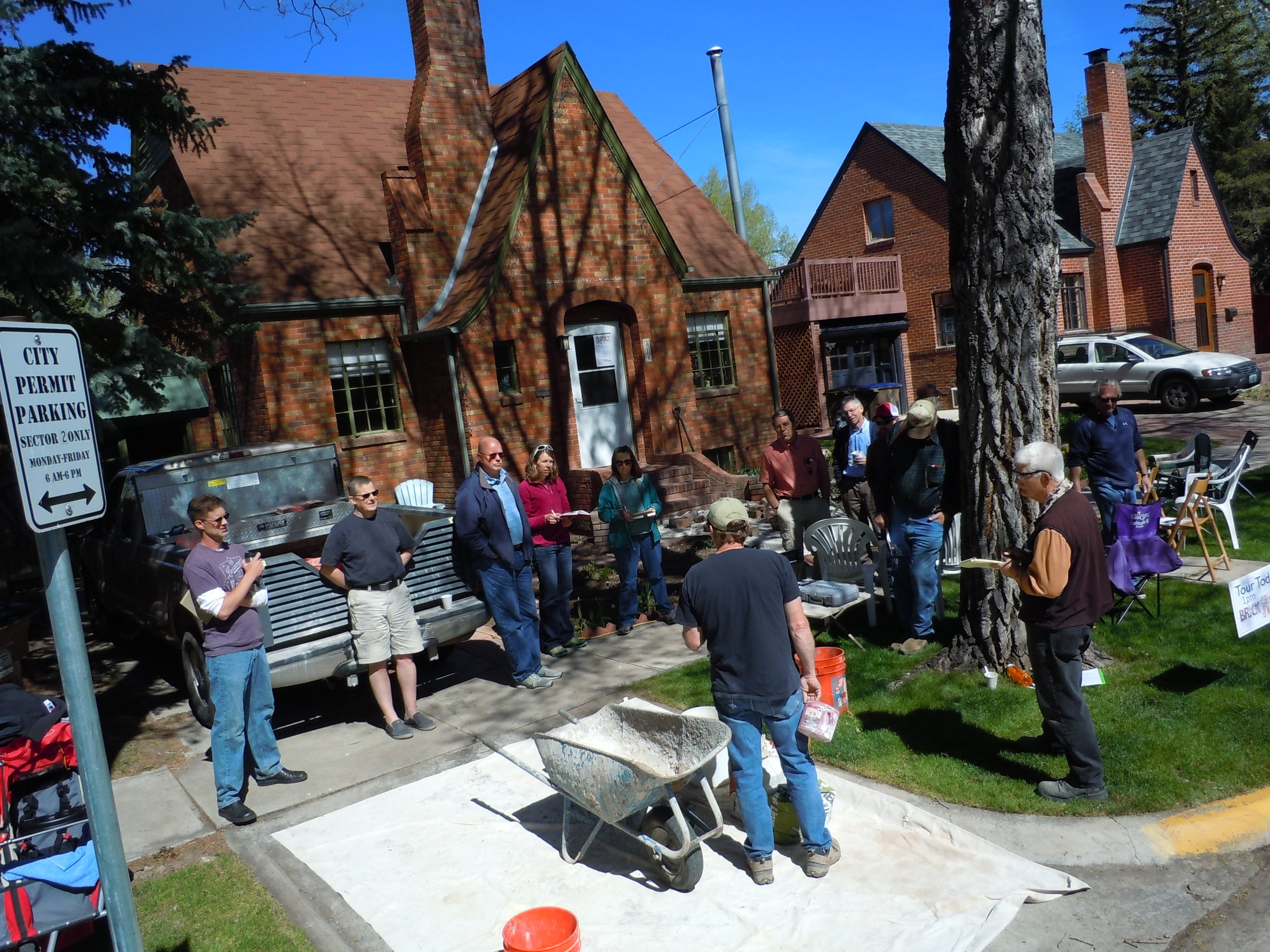 Brick Workshop in Laramie