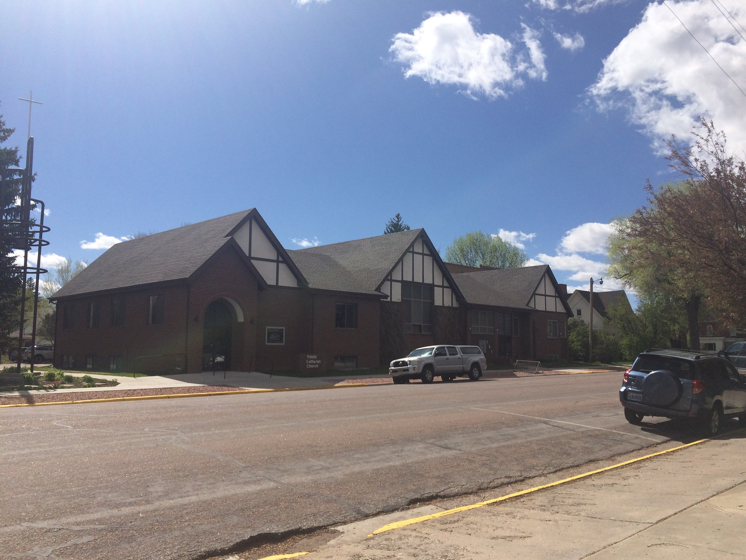 The Trinity Lutheran Church moved to their new location on 7th Street in 1925