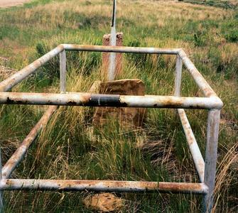 Ava McGill (sp) grave, Glenrock