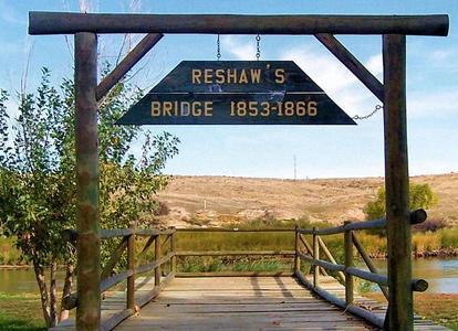 Reshaw's Bridge after crossing