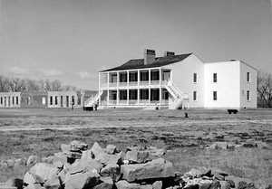 Old Bedlam in the 1940s, courtesy National Park Service Historic Photograph Collection