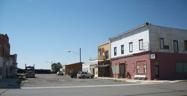 CH King Lumber and First National Bank of Shoshoni Building