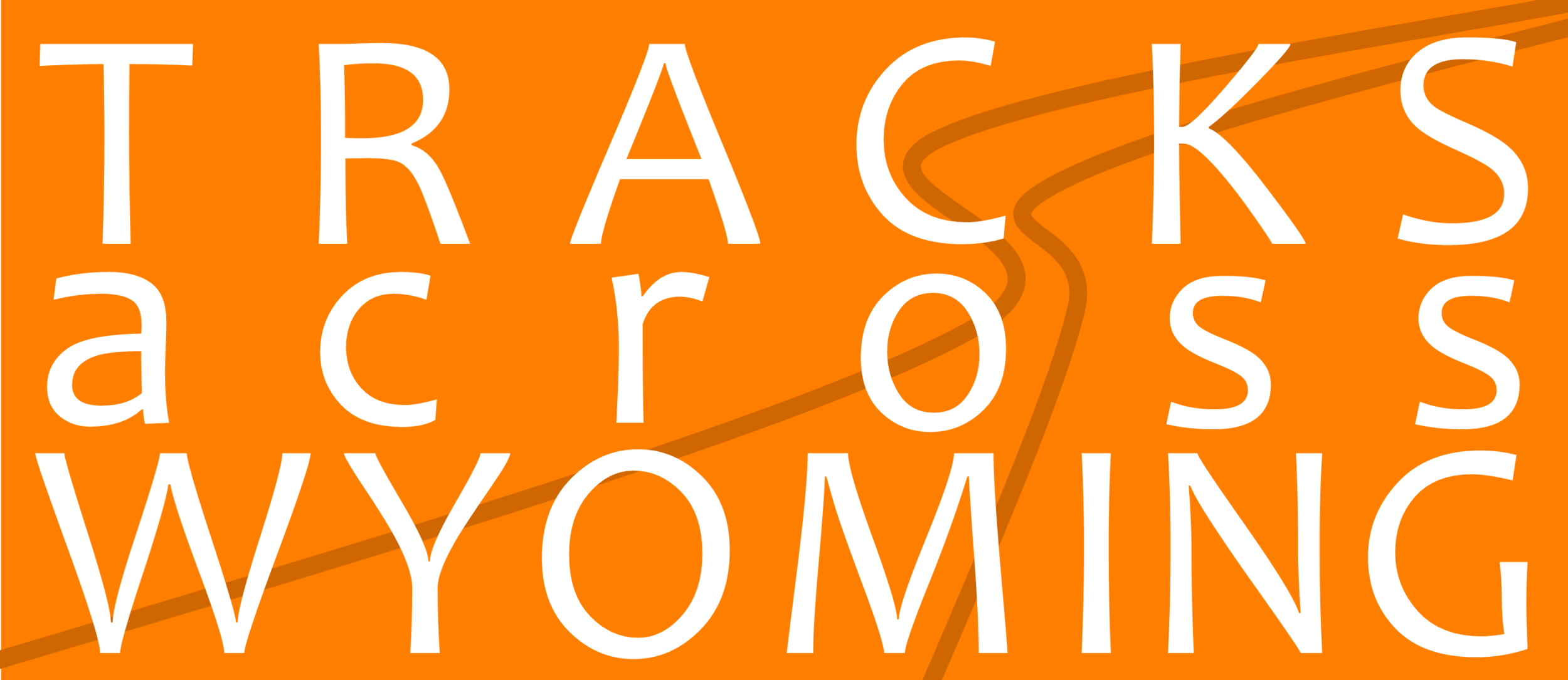 Click the logo to learn more about Tracks Across Wyoming