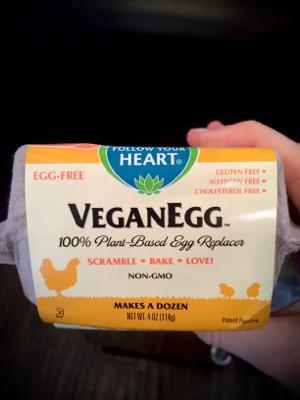 Vegan egg!