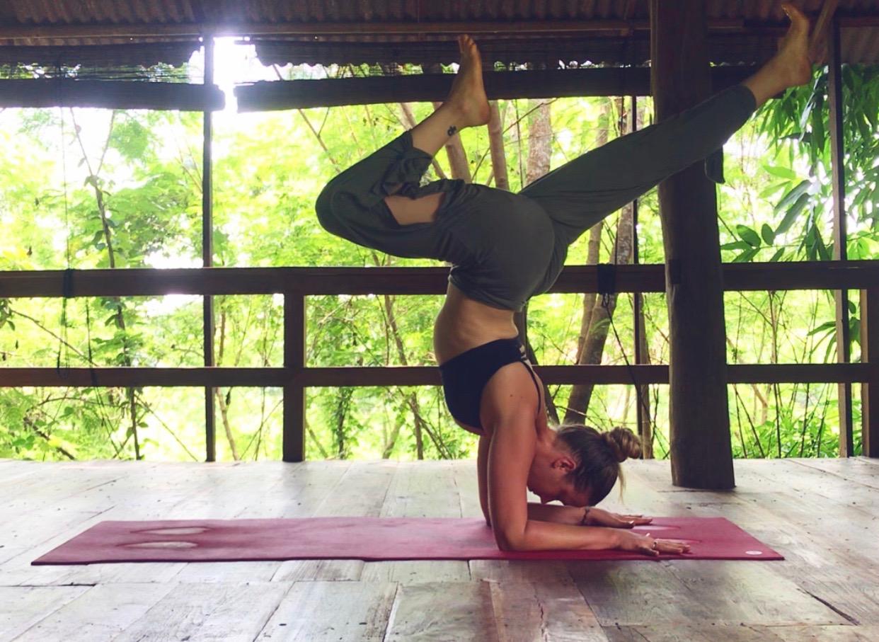 The yoga shala of dreams; Suan Sati, Chiang Mai, Thailand.