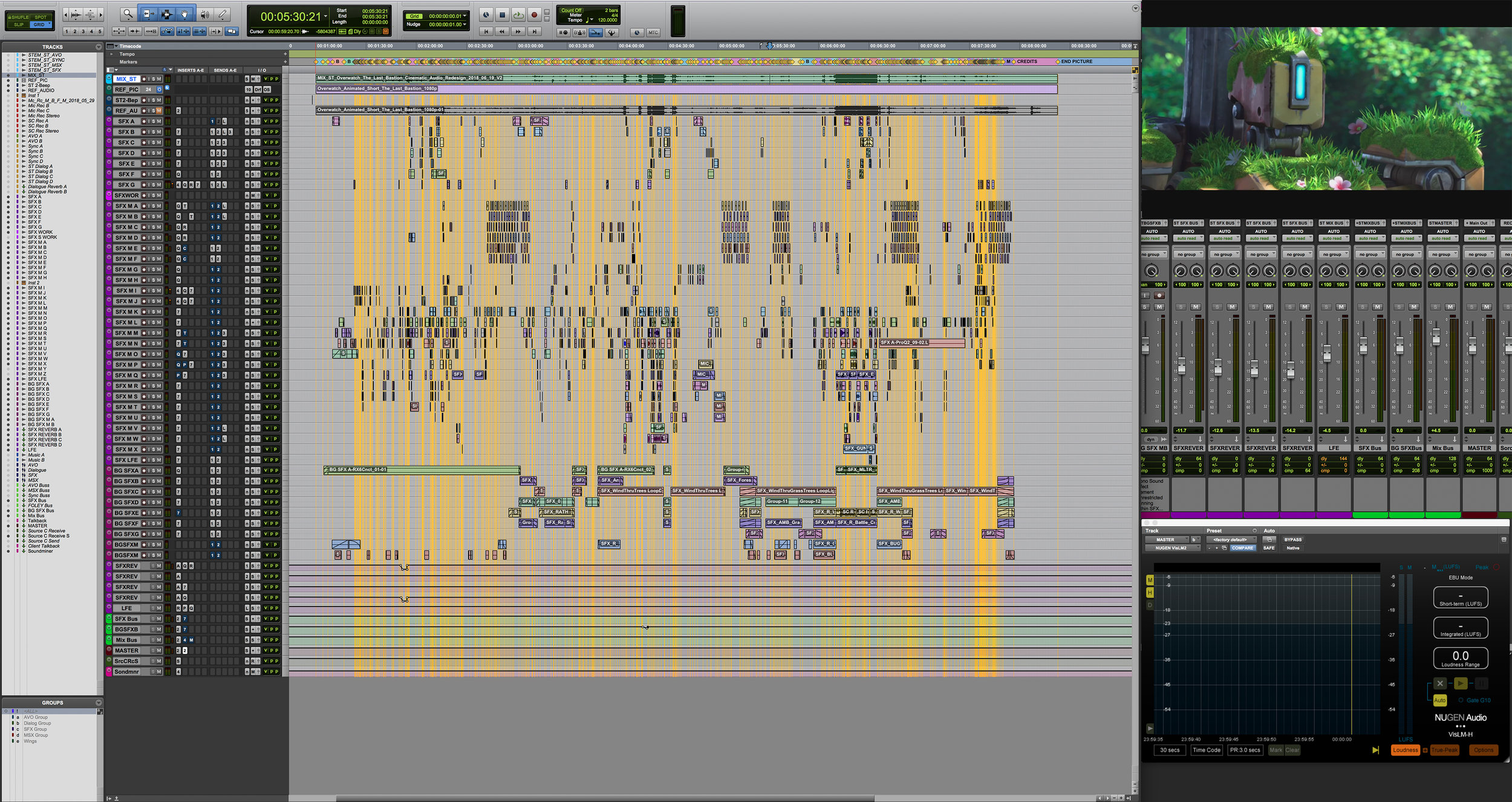 Here's a screenshot of my Pro Tools session. As you can see, there's a few markers.