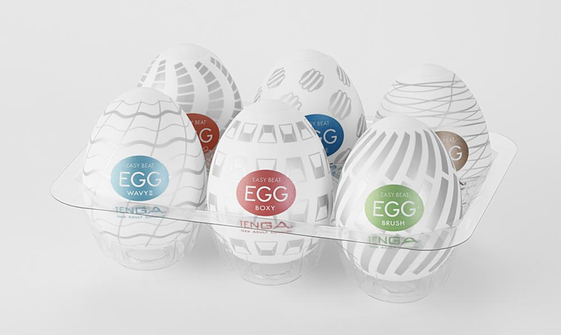 Tenga Egg Series - super stretchy, disposable masturbation sleeves