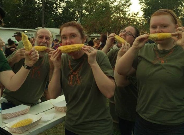Nobody looks sophisticated while eating corn on the cob...