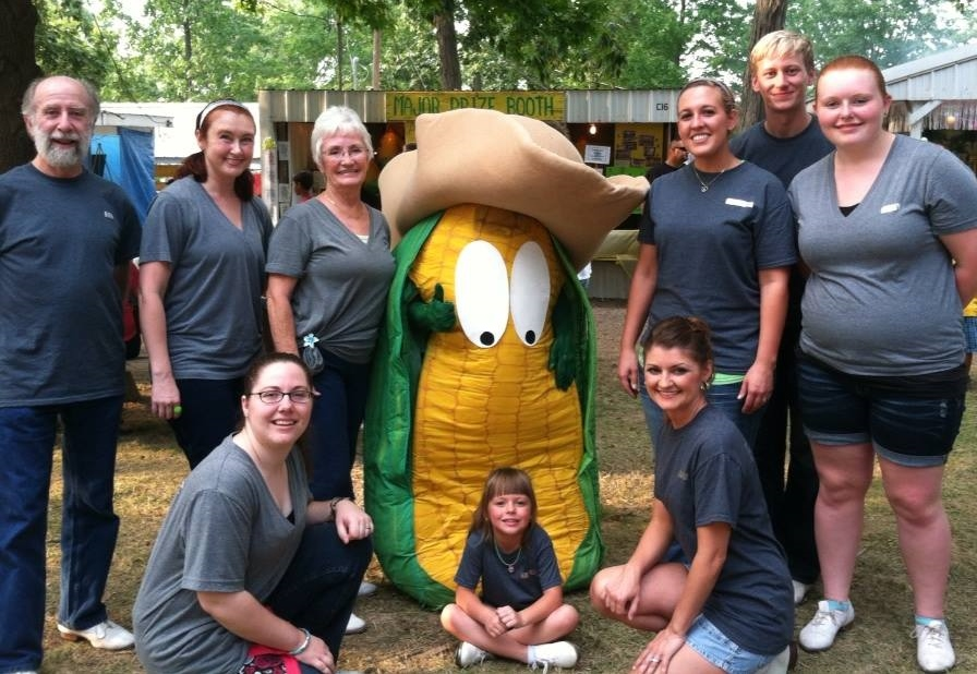 Where else can you find a walking ear of corn wearing a cowboy hat?!