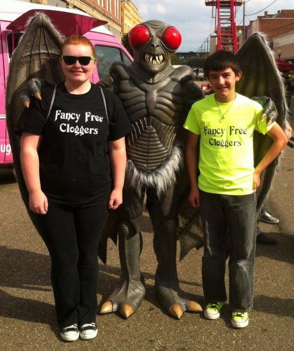 Luckily, Mothman was in a friendly mood. Molly and Jordan would be in big trouble otherwise!