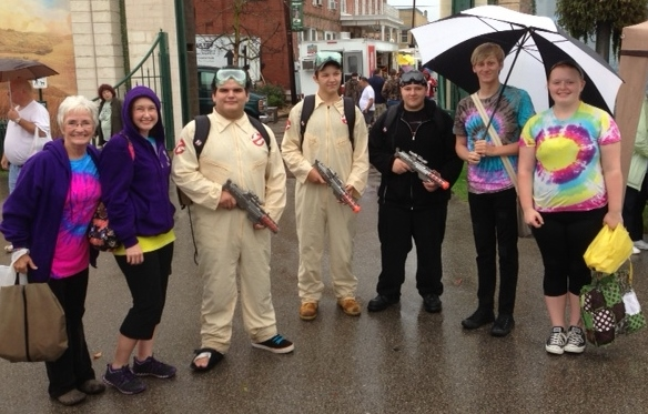 No need to call the Ghostbusters - they're already here!