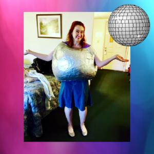 pinterest fail disco ball dance costume