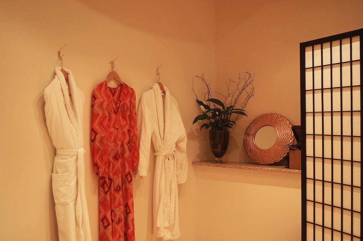 My dress is by Bali-based label  Mr Zimi