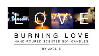 Burning Love Candles