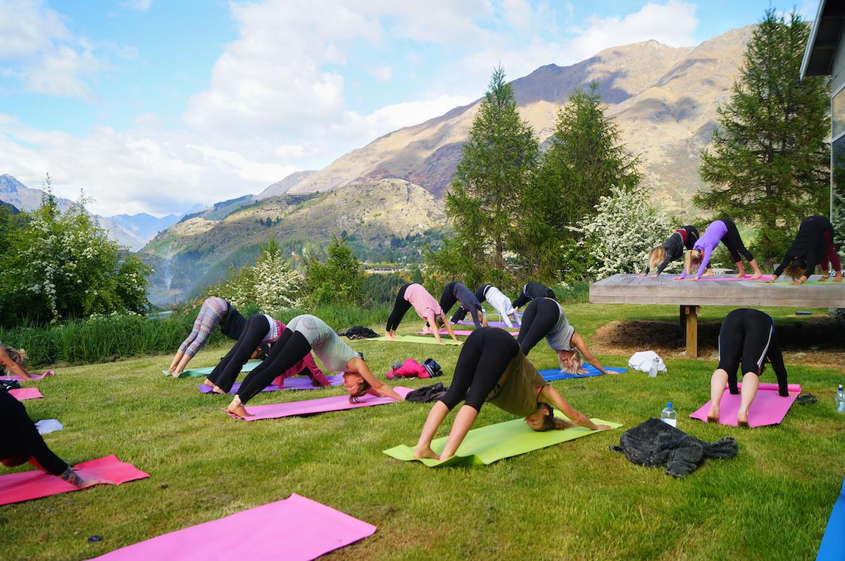 Queenstown yoga retreat