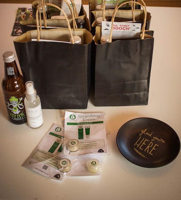 Gift Bags Wellness Retreat