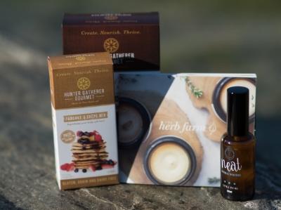 organic skincare perfume baking