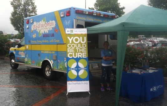 Grace Oughton Cancer Foundation Mobile Lab - Photo provided by Alec Oughton