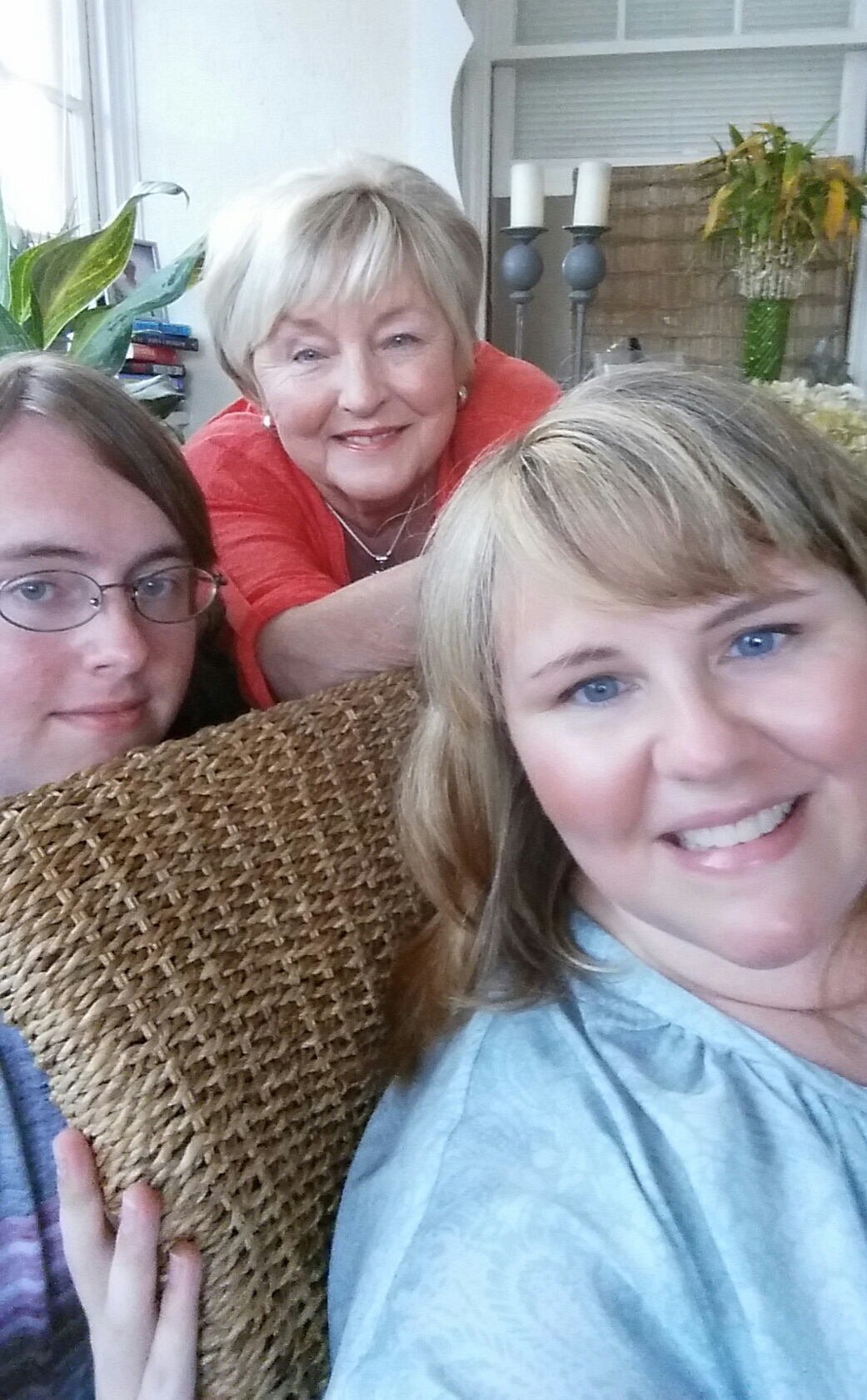 On the Porch Selfies