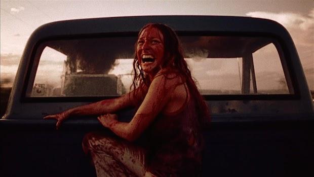 Sally Hardesty (Marilyn Burns)  The Texas Chain Saw Massacre  (1974)