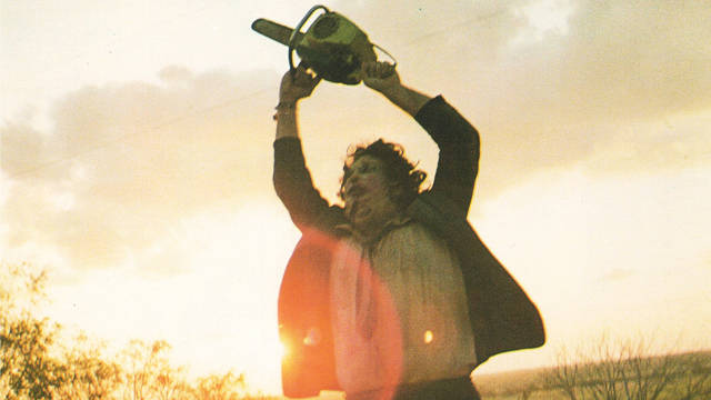 Leatherface and his chainsaw.