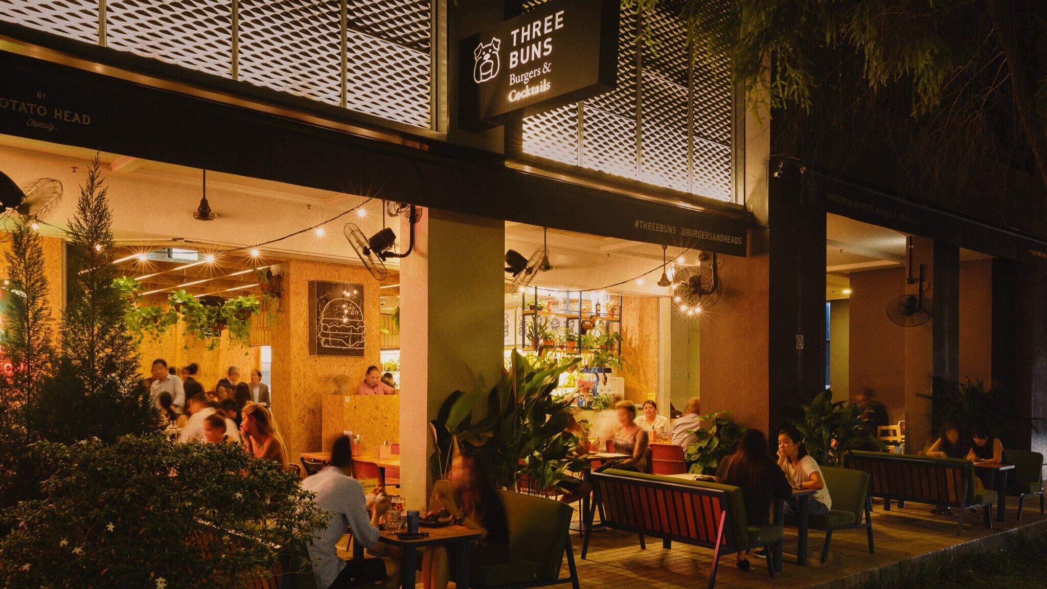 Three Buns Singapore | Burger and cocktail bar — Three Buns Burgers & Cocktails | Best burgers in Jakarta & Singapore