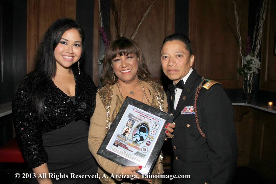 Emy Cee with Milly Quezada & CPT Bravo