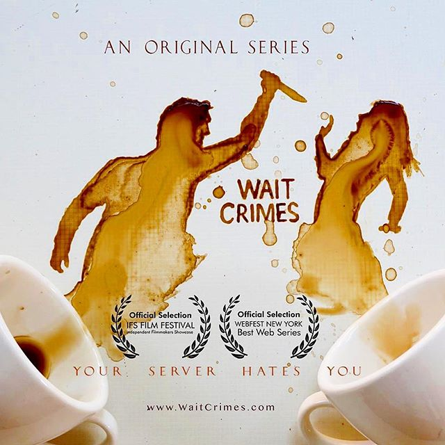 Wait Crimes Trailer Coming Soon! #staywoke #yourserverhatesyou  Artwork by @bernulia • • • • #Waitcrimes #serverlife #serverprobs #serversbelike #serverlifeproblems #server #servers #serverproblems #justiceserved #yourserverhatesyou #boh #foh #restaurantlife #trailer #filmmaker #workflow #lmfao #lmao #hostess #waitress #restauranthumor #comedy #lineup #runner #preshift #worldstar #webfestnyc #ifsfilmfestival