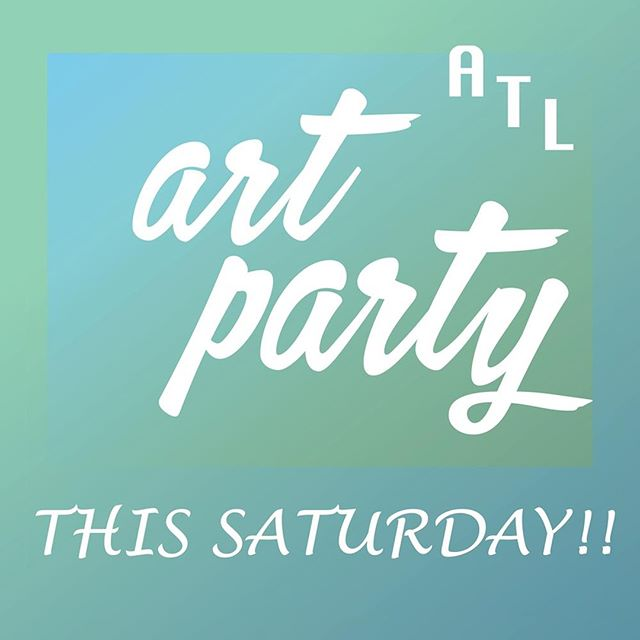 Making plans for the weekend? Atlanta's hottest event is the @unicefnextgen ATL ART PARTY happening THIS SATURDAY. Expect beautiful people who care about children. Life-altering art for sale. Open bar. Food. DJ. All that's missing is you.  Tickets are going fast, so get them now and join us at 595 North Event Center. All proceeds will go towards ending violence against children in Madagascar. Get your ticketsor make a donation with link in bio!  #atlartparty #unicefnextgen #atlantaart #childrenfirst