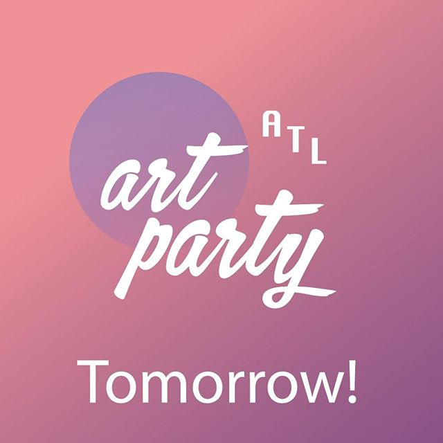 @unicefnextgen ATL ART PARTY is tomorrow and MY. BODY. IS. READY. There's going to be amazing people. Incredible art. All ticket and art sales will go towards ending violence against children in Madagascar, so there will be good karma.  Join me on 03/02 at 595 North Event Center. Get your tickets before they sell out! Buy tickets or make a donation at the link in bio.  #atlartparty #unicefnextgen #atlantaart #childrenfirst
